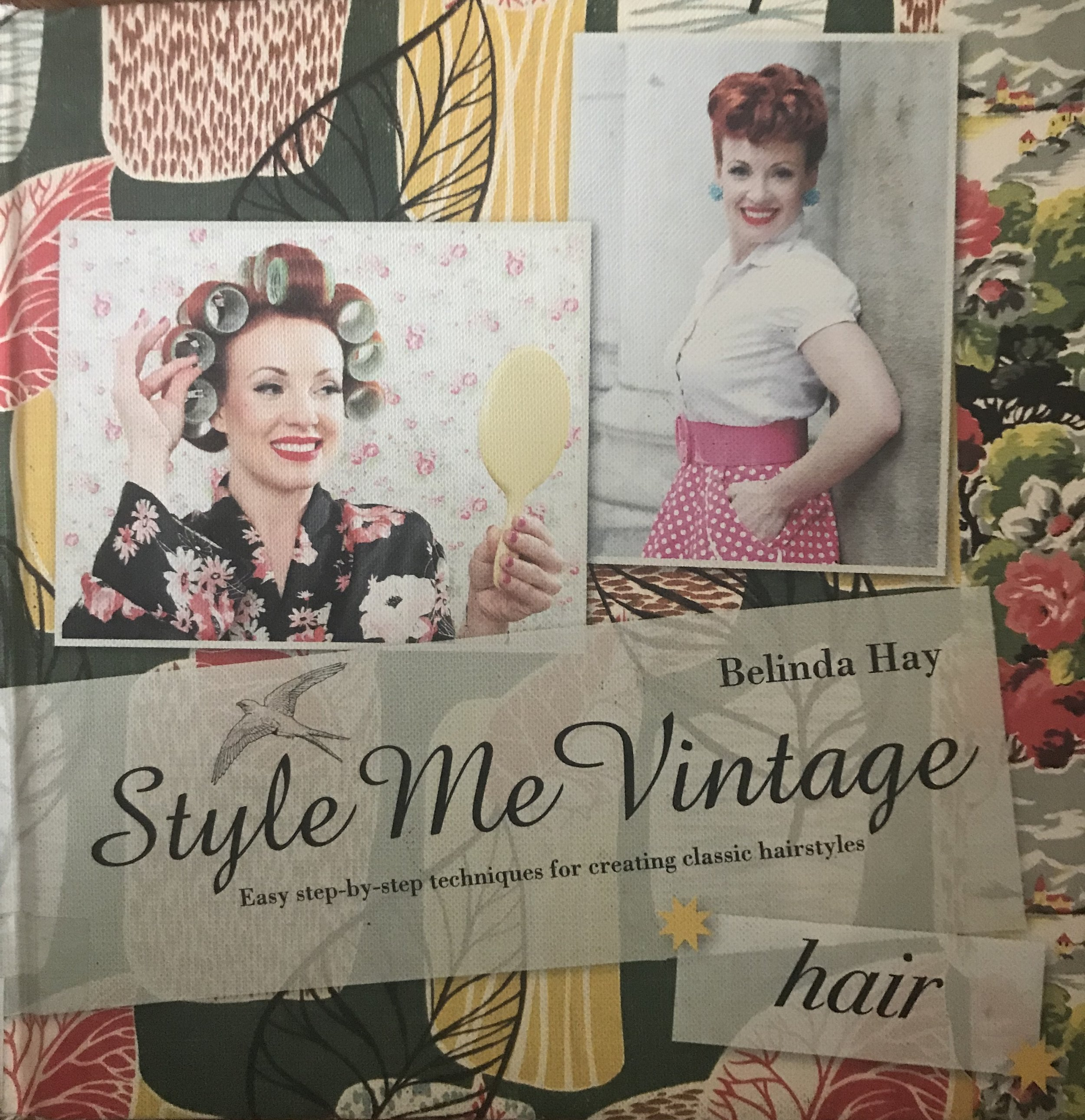 If you have a fun party coming up for any reason this book can provide you with tons of inspiration! Pincurls, beehives, roller sets. The higher the hair the closer to God.