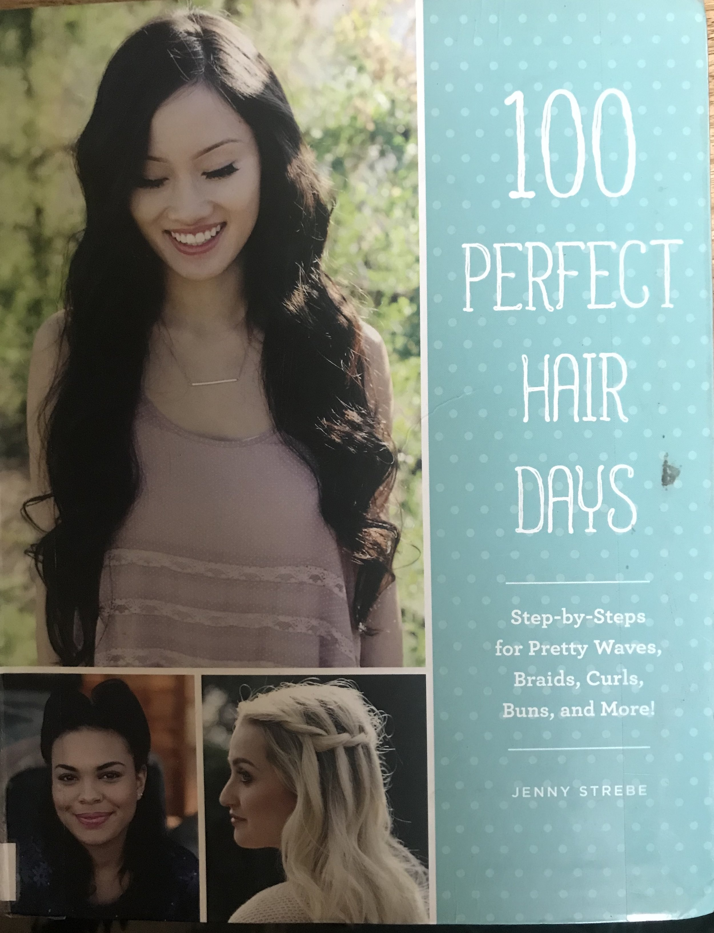 The author of this book did an incredible job in considering the hair texture, length and density for each style and nobody is left out. There are some really fantastic looking styes in here that somehow are simply explained.