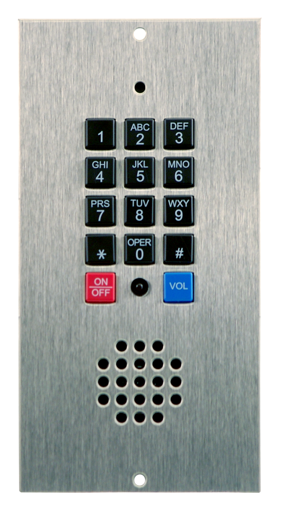 Fortress style - Keypad Flush Mount   Mounts flush to any surface with box cut-out  Not A.D.A. compliant