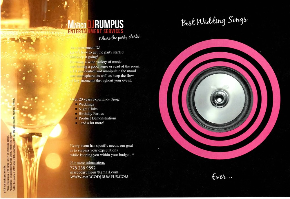 Need information about your wedding or private event? click this picture to go to the special weddings website !!
