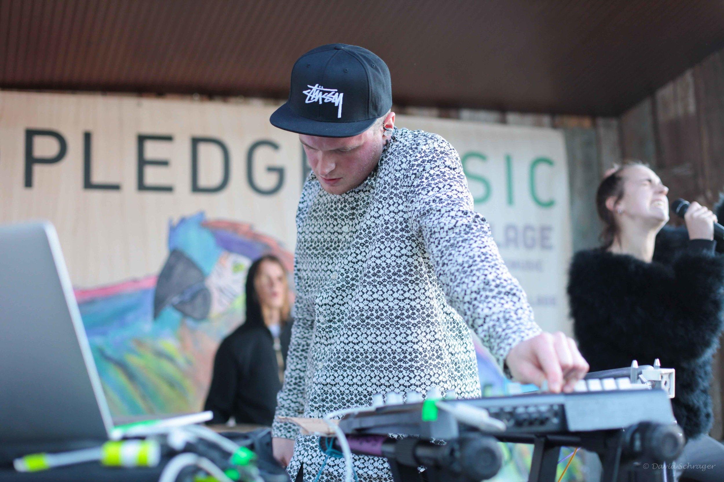 MØ @ The Blackheart on Rainey// Pledge Pavilion