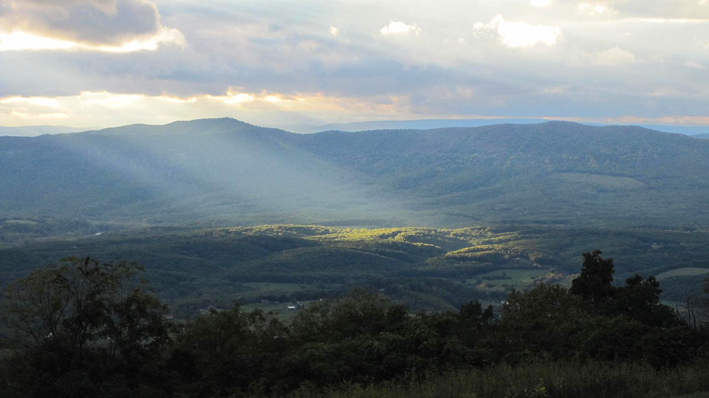 The Shenandoah Valley:  In 'God's country,' small-town events feel broadly resonant.