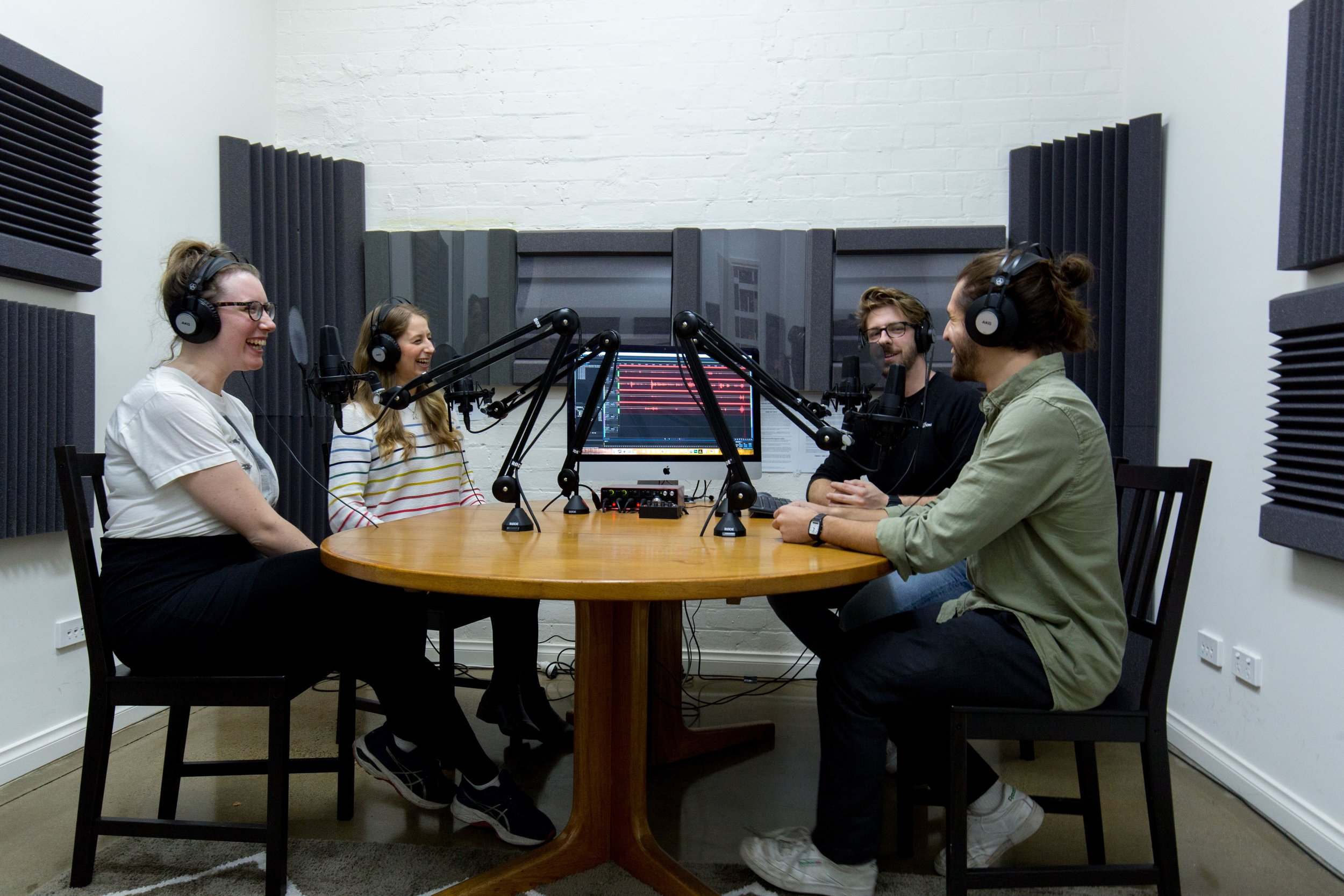Podcast Studio Brunswick East, Melbourne