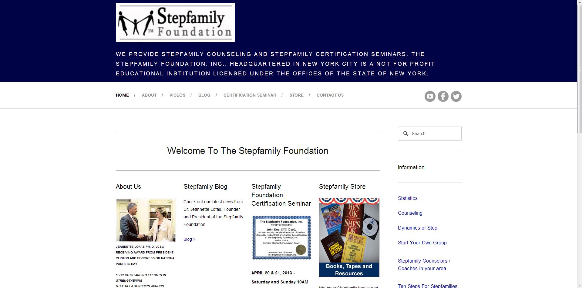 Stepfamily Foundation New Site