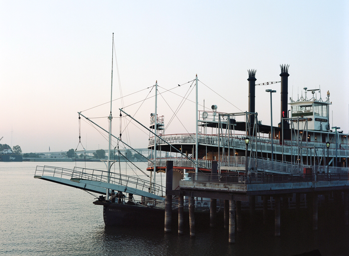 Riverboat Cruise Ship Docked in New Orleans_Dawn_web.jpg