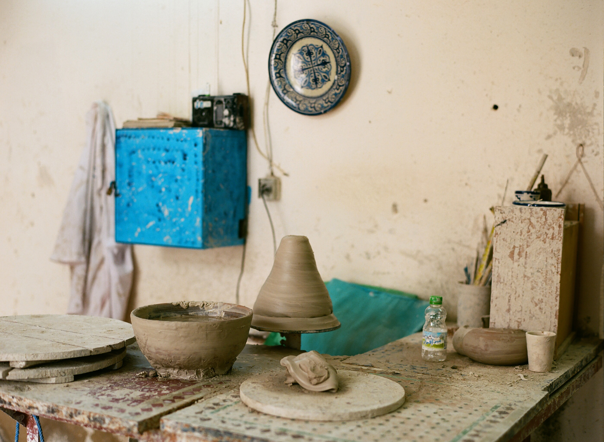 Potter and clay work station at co-op_fez_web.jpg