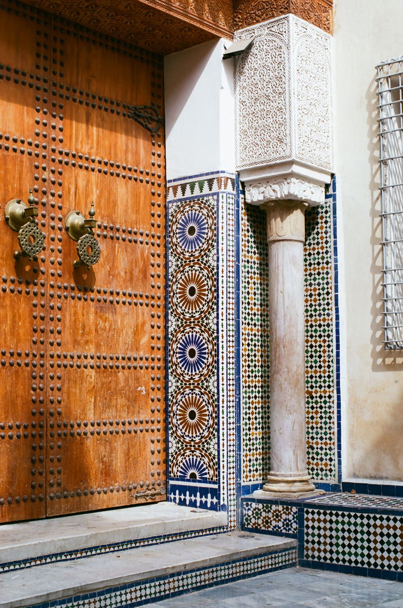 Wooden Door and Tile Walls_museum in Fez_web.jpg