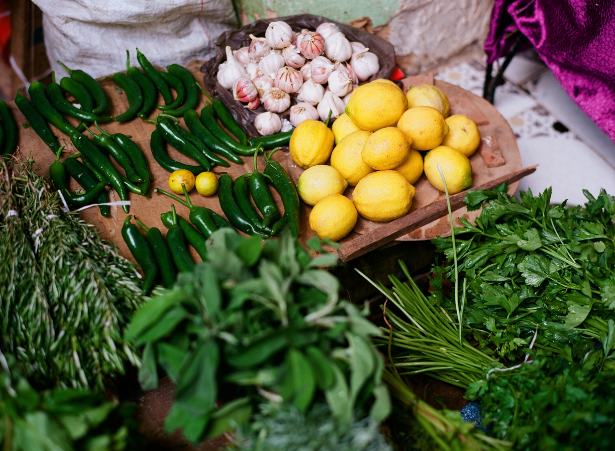 Lemons_Green Peppers_Produce Display in Medina_Fez_web.jpg