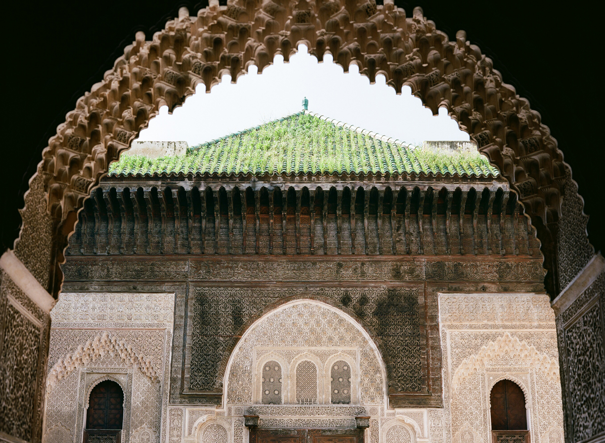 Green Roof with Grass On Top_Archway View_Mederssa El Bouanania_Fez Medina_web.jpg