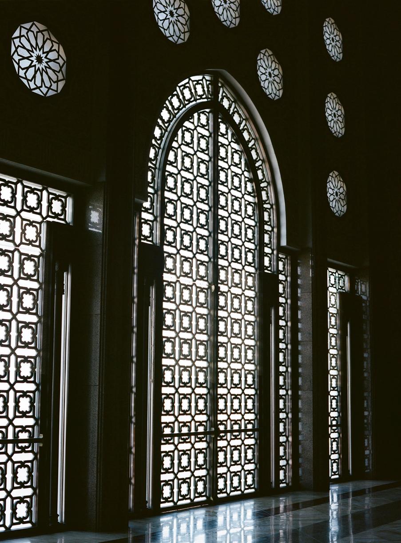 Inside windows at hassan mosque II_web.jpg