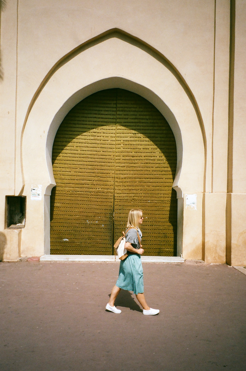 Allison Walking in front of Door at Place Foucauld_web.jpg