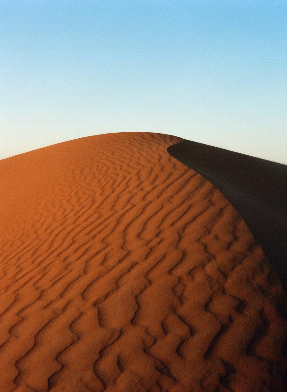 Sand wave lines and dark shadow_sahara dunes at dusk_web.jpg