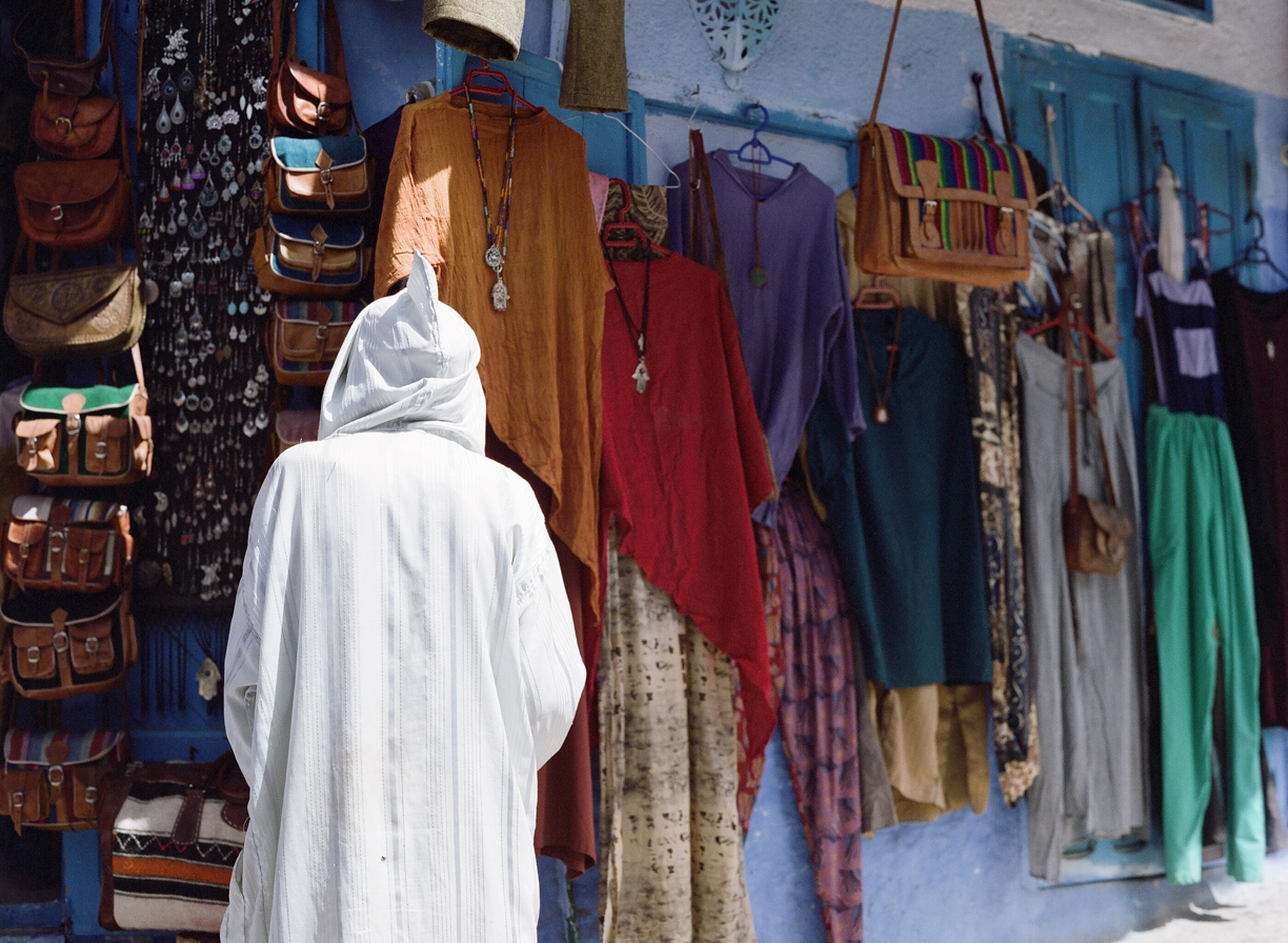 White Hooded man at Market Store_Chefchaouen_web.jpg