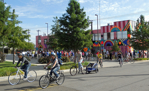 Oklahoma City bicylists. Photo Credit: Flickr