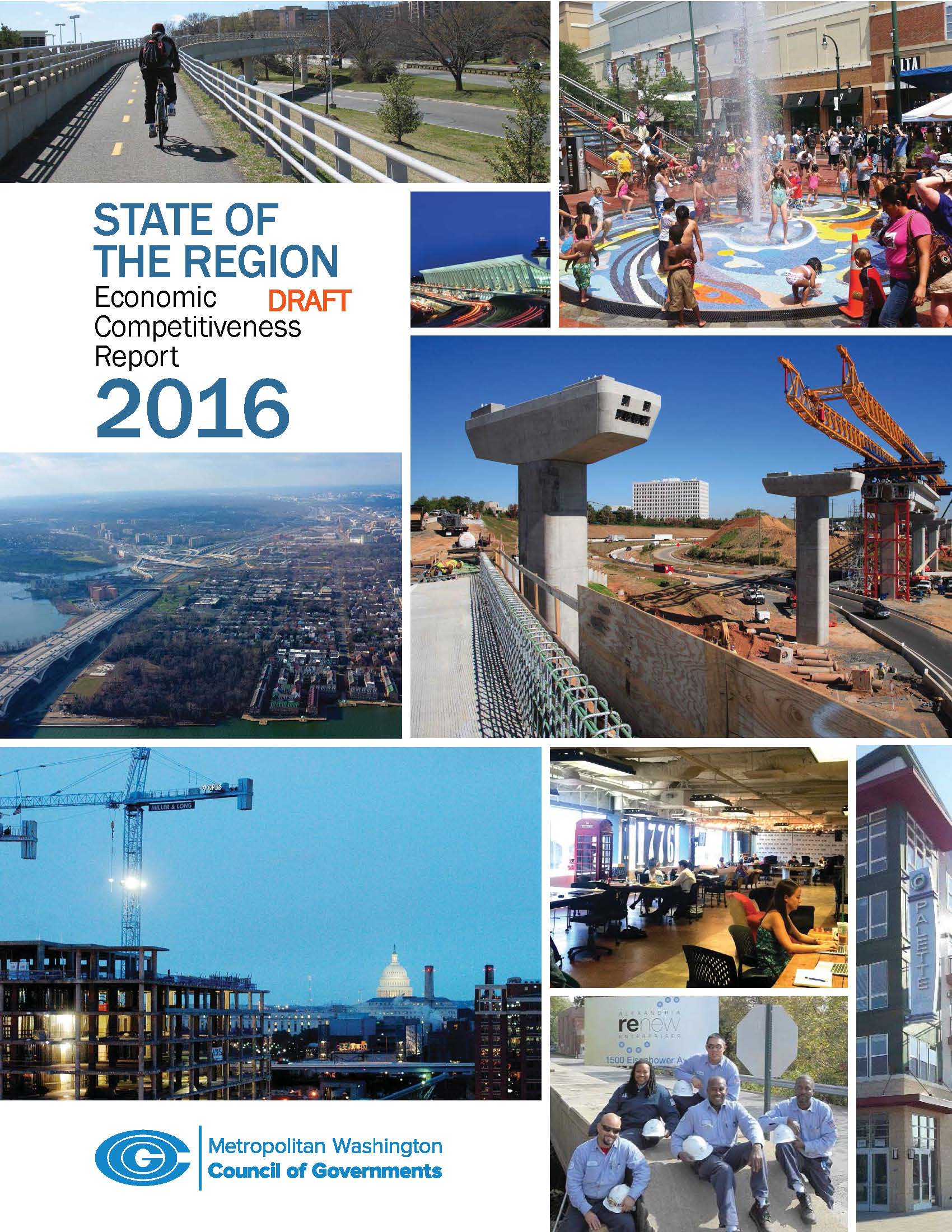COG's 2016 State of the Region Report, authored by MZ Strategies, examines a number of factors that influence regional competitiveness. The picture is a sobering one that calls on regional leaders to more strongly collaborate to leverage the region's considerable assets.