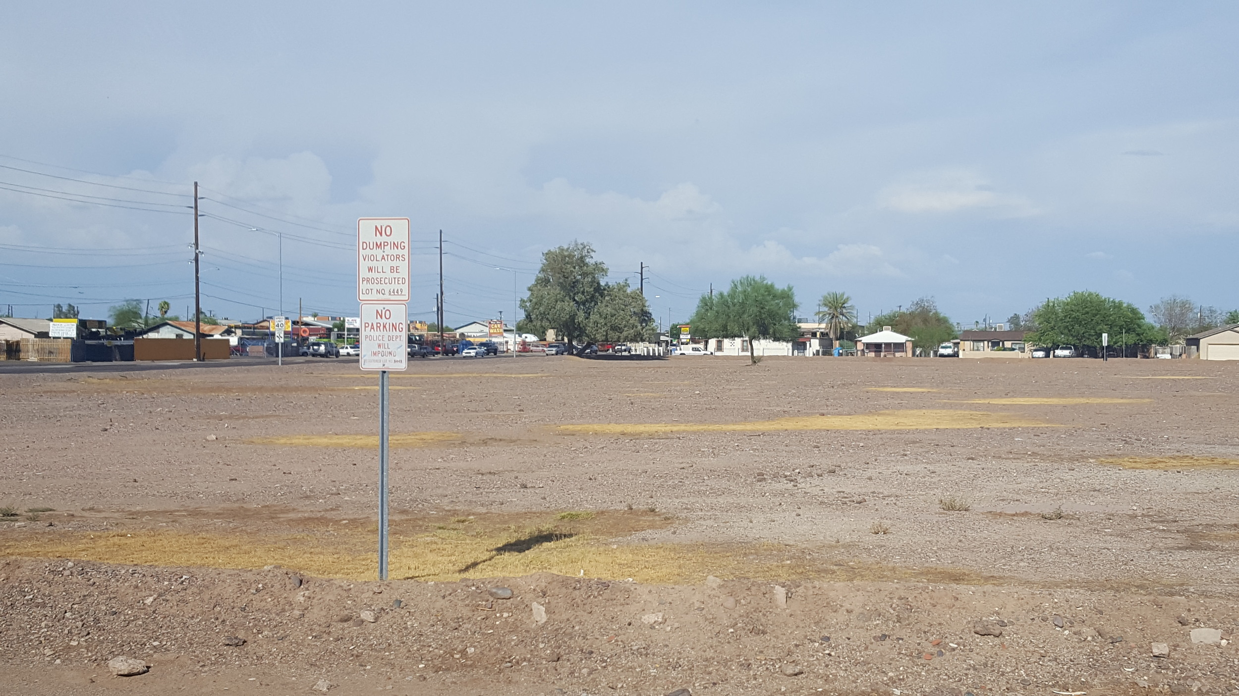 Brownfields, vacant land and illegal dumping plague many low-income neighborhoods, and challenge TOD opportunity, but addressing these challenges with the community is central to an eTOD process. (Photo: M. Zimmerman)