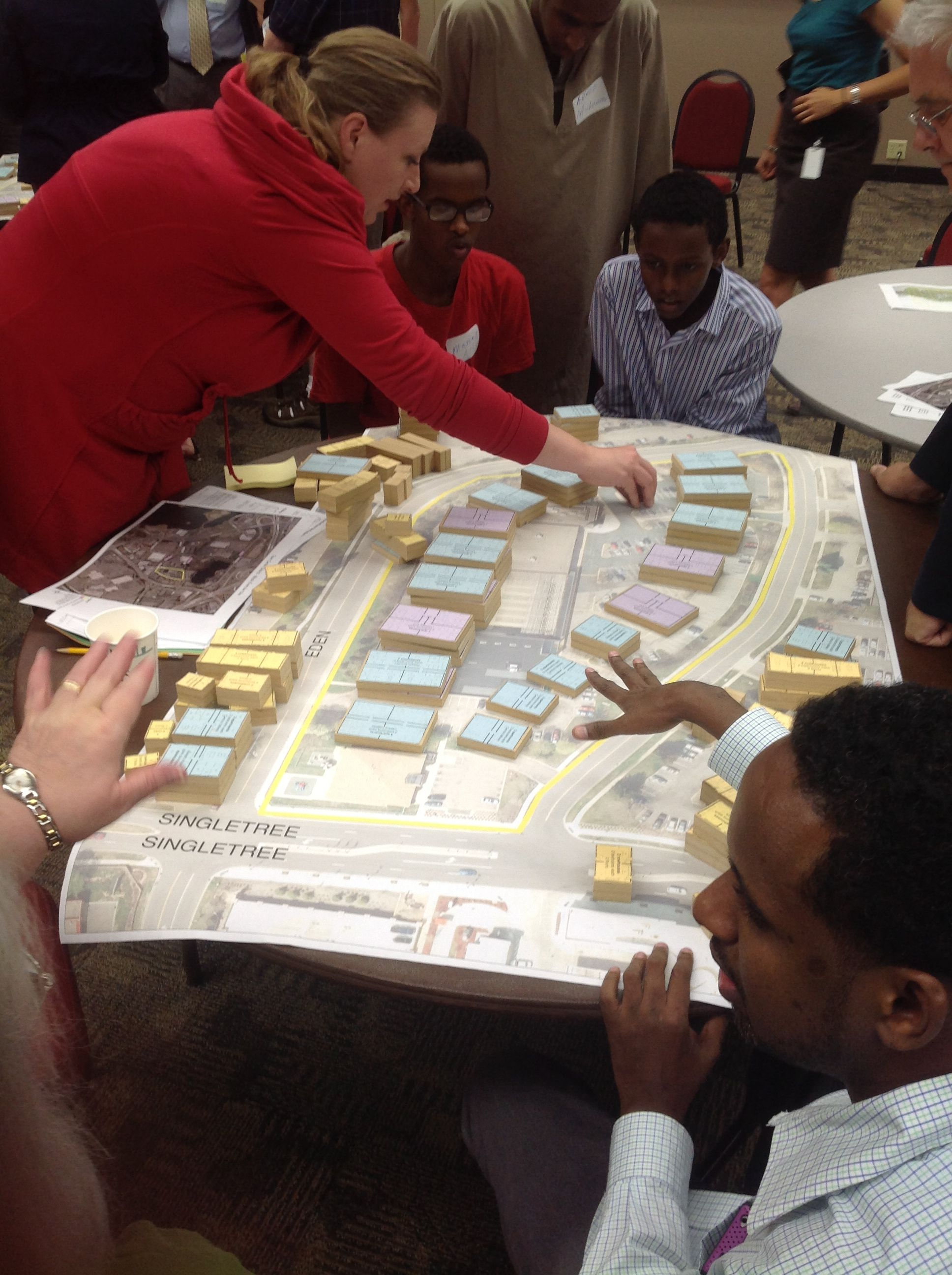 Community advocacy and non-profit organizations are essential partners in community planning, visioning and organizing work to support TOD (and overcome NIMBYism)  photo: Twin Cities LISC