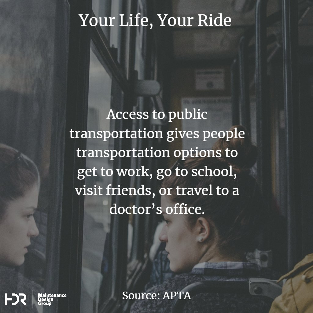 Many pro-transit ads like this portray the average rider as someone who is white and relatable to middle-income white voters. American cities need more transit and this kind of marketing has been successful. Yet we must reconcile the very real racial stereotypes and prejudices that continue to undermine societal support for transit, or continue building transit that may not well-serve those who most rely upon it. (Source: HDR and APTA)