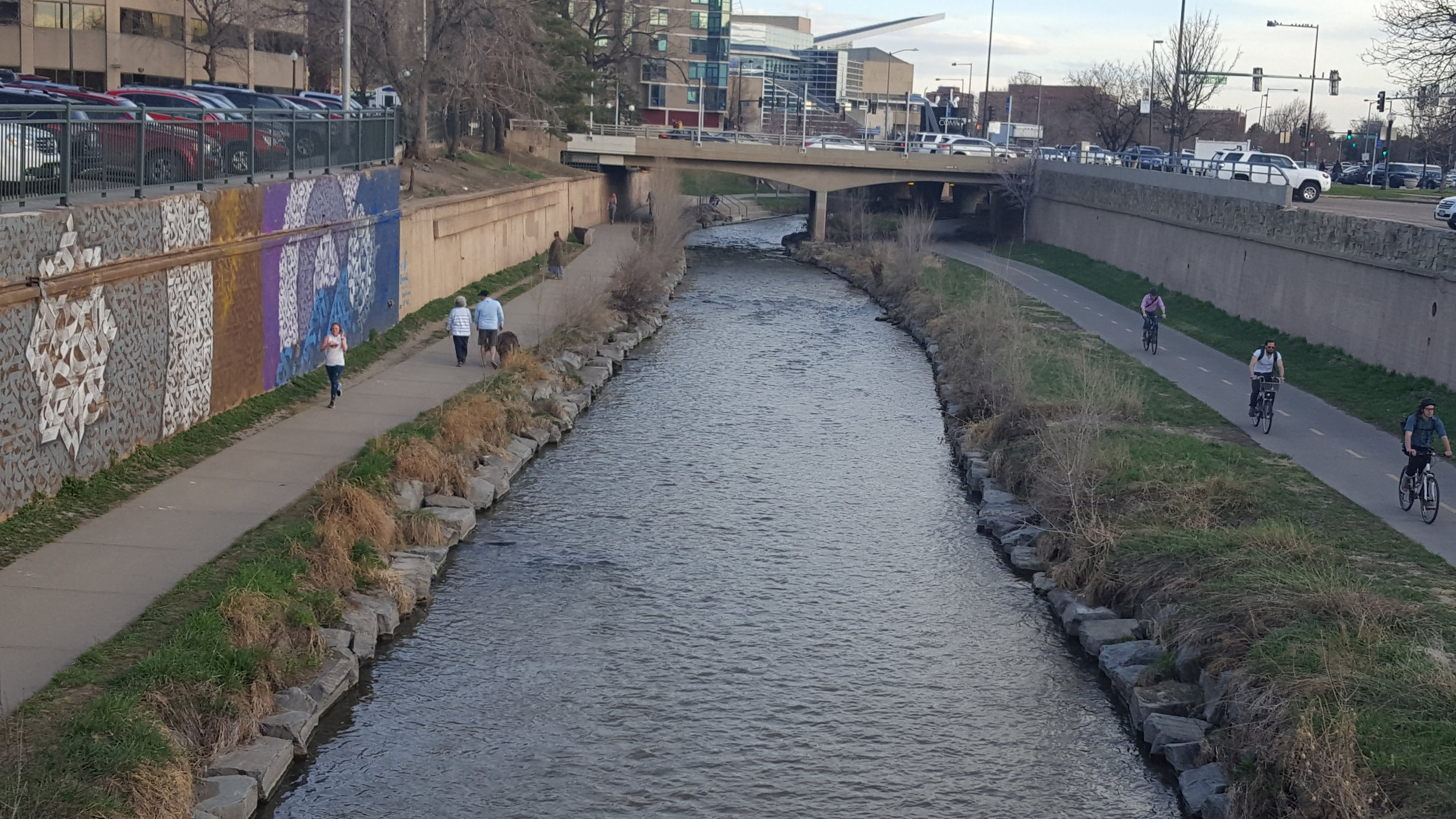 South Platte River near downtown Denver has been redesigned with resiliency, placemaking and mobility elements creating an important community and environmental asset. (Photo: MZimmerman)
