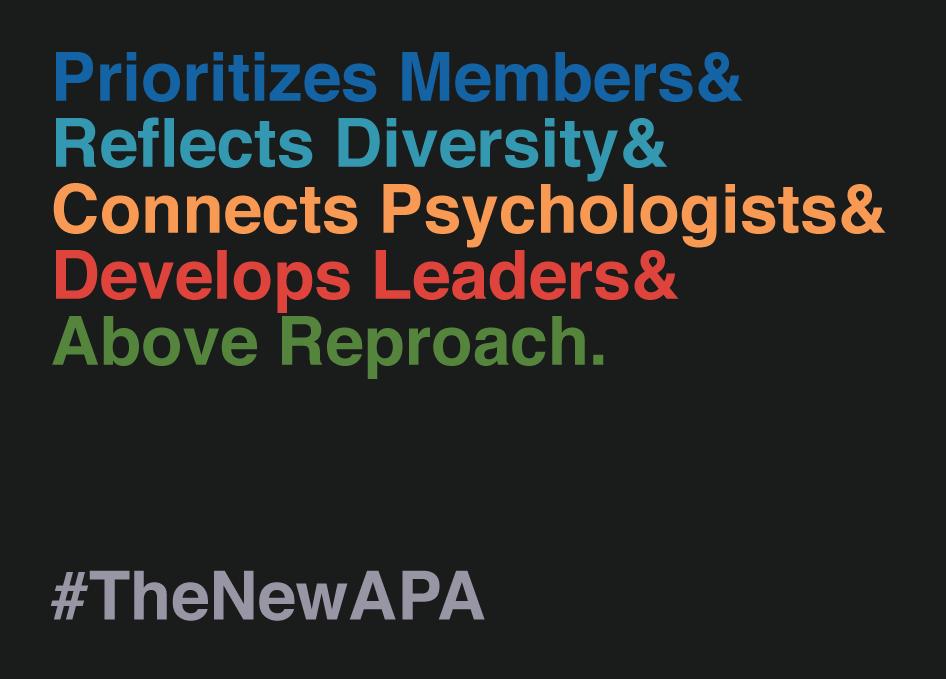 Nominate Ali Mattu for APA President #TheNewAPA