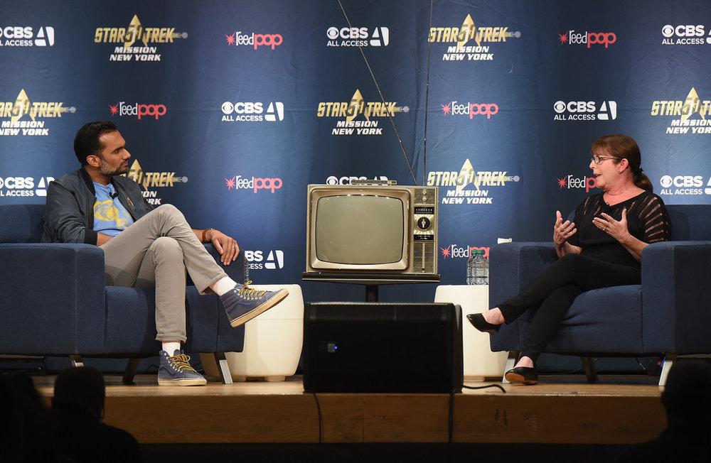 Ali Mattu, Julie Nimoy, Star Trek Mission New York, OCPD