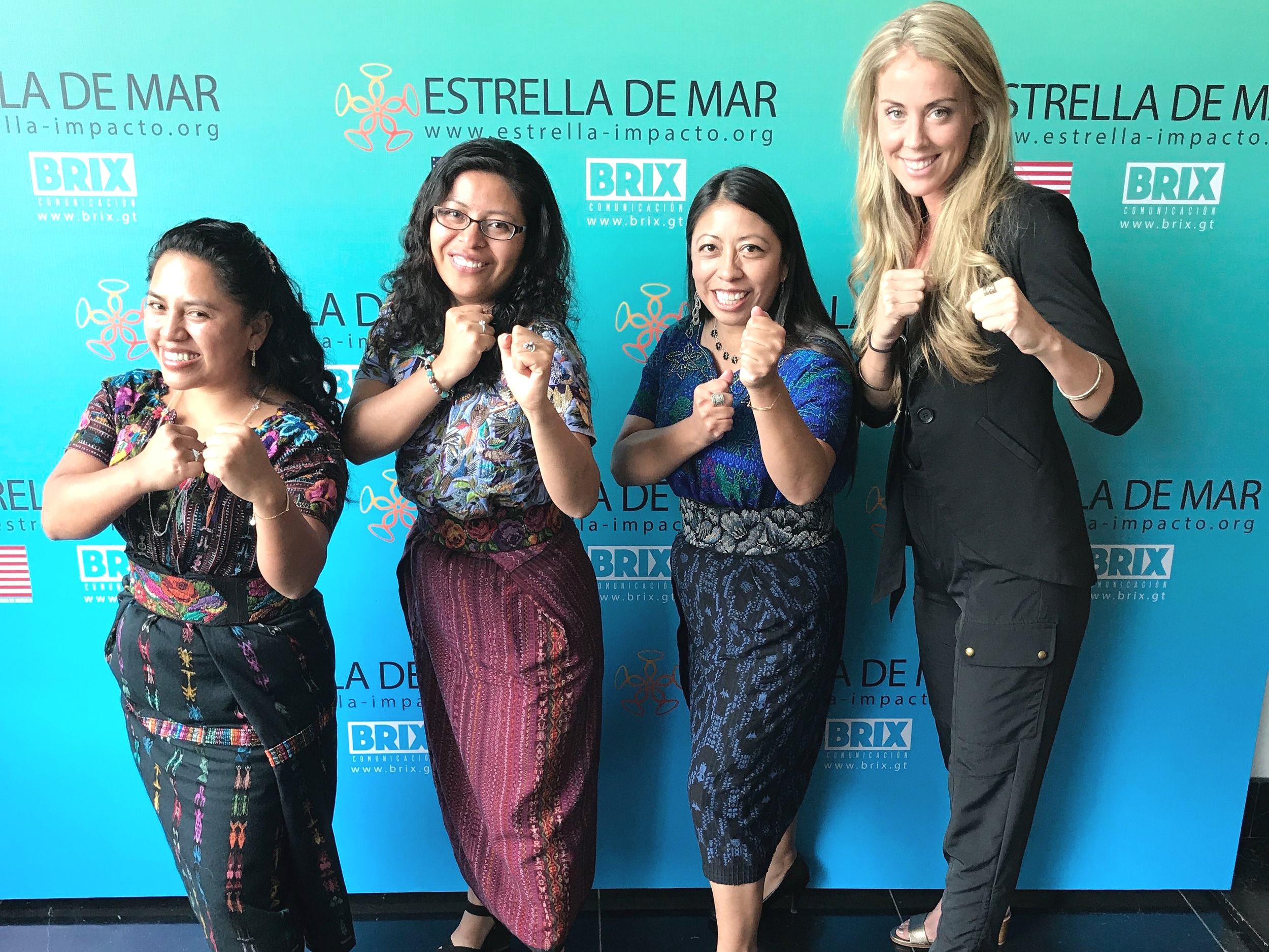 Panel speaker at Verlo Serlo Summit on Media Representation and Self-Esteem in Guatemala - joined by powerful team from  Maia Impact!