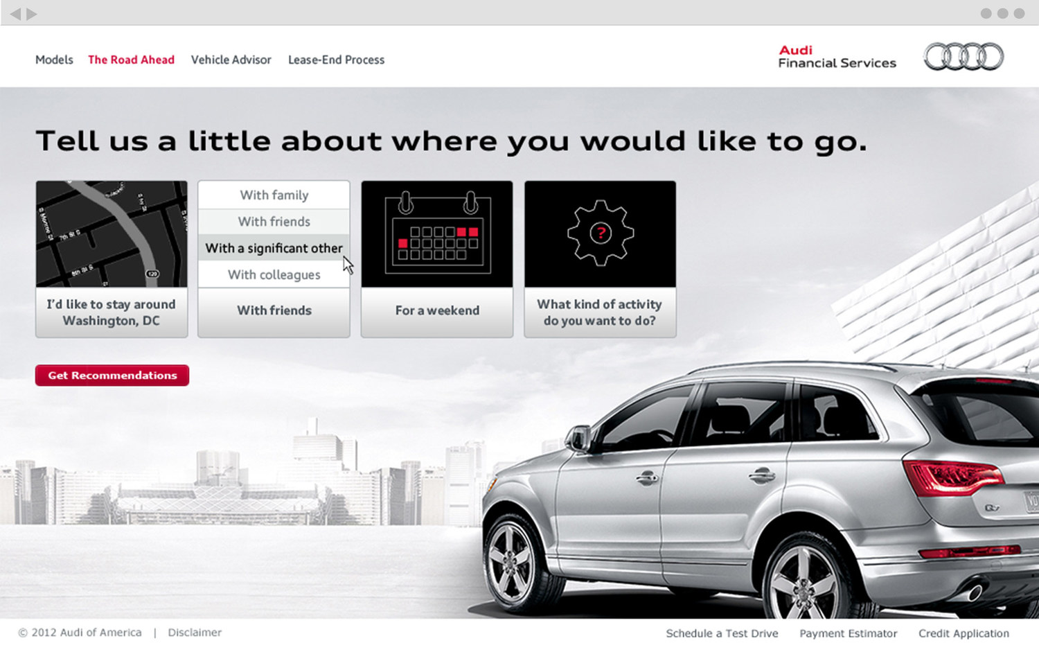 Audi Financial Services >> Audi Financial Services Br Digital Experience Br H6 H6