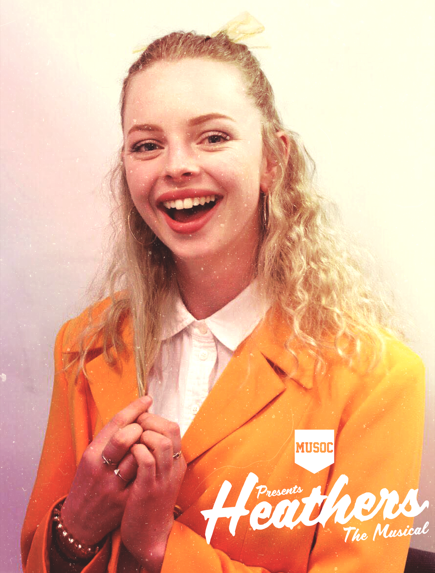 GEROGIA CHAPPLE - HEATHER MCNAMARA  After doing her fair share of theatre in Nelson, Georgia is now performing in her first MUSOC show in the role of Heather McNamara. She is in her first year of studying primary school teaching at UC and is very grateful to be a part of Heathers doing what she loves!