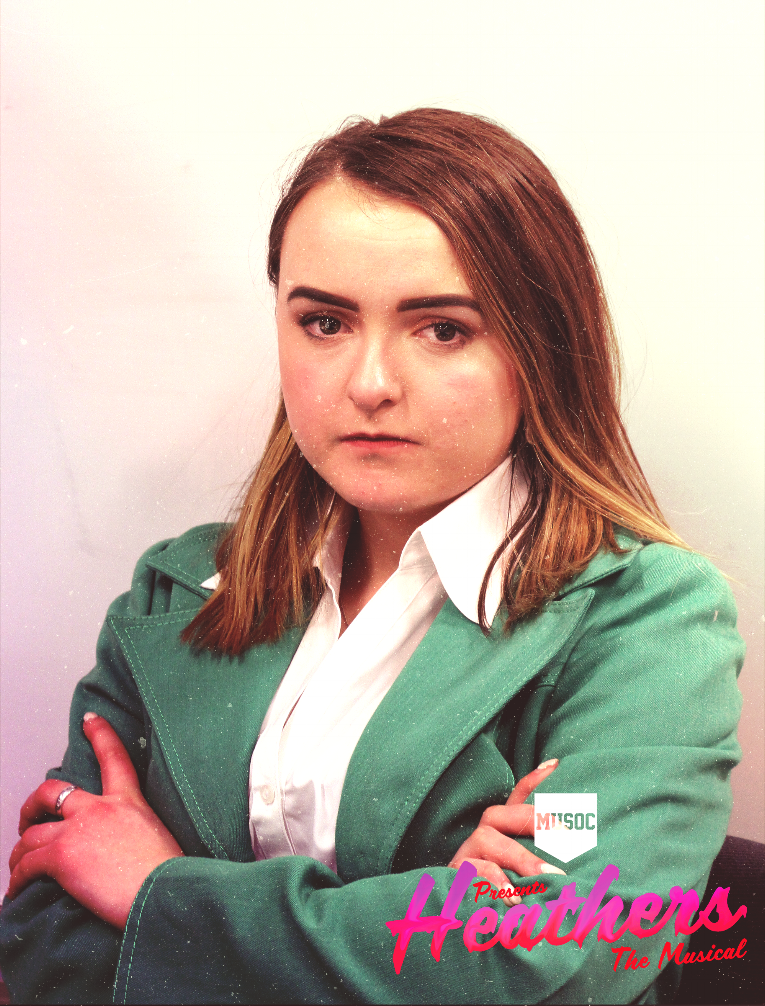 ALI DIAMOND - HEATHER DUKE  Ali is currently studying at NZ school of Tourism, and it's her first show with MUSOC. Ali (Annelise) is a well known performer in her home town of Ashburton, but is excited to take on Heather Duke as her first main role in a Christchurch show.