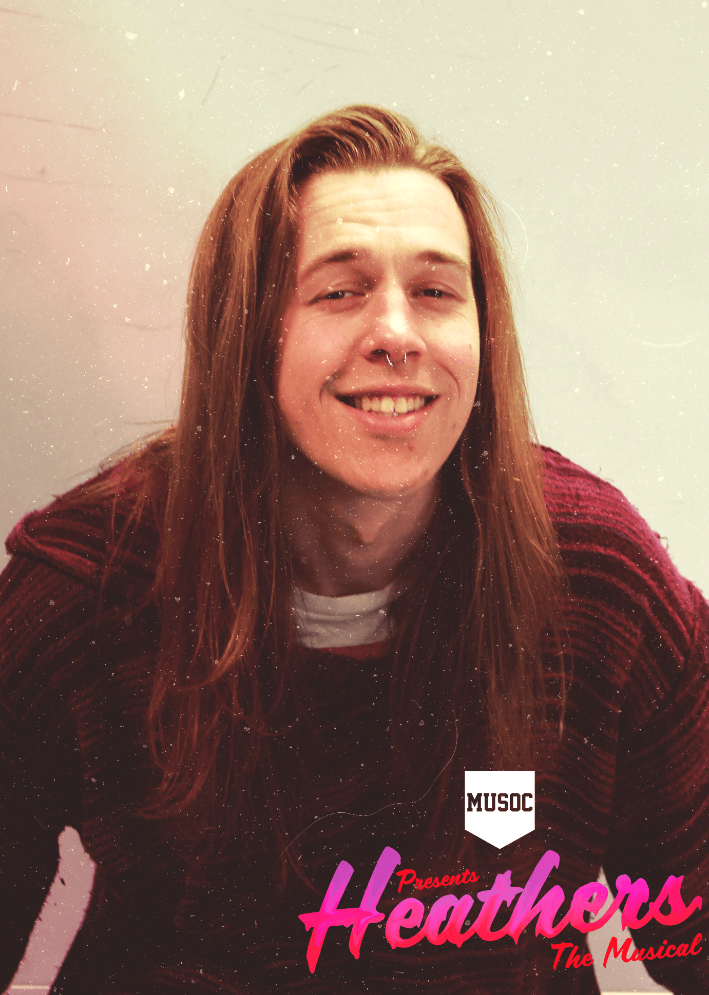 BRETT MCPHAIL  This is Brett's 9th MUSOC™ production since joining in 2012. He loves MUSOC™ because the people are [beautiful] and the shows are [big fun] (haha get it bc they're songs in the show). Brett is a well-behaved kid who doesn't take drugs, so he had to do a lot of research for this role.
