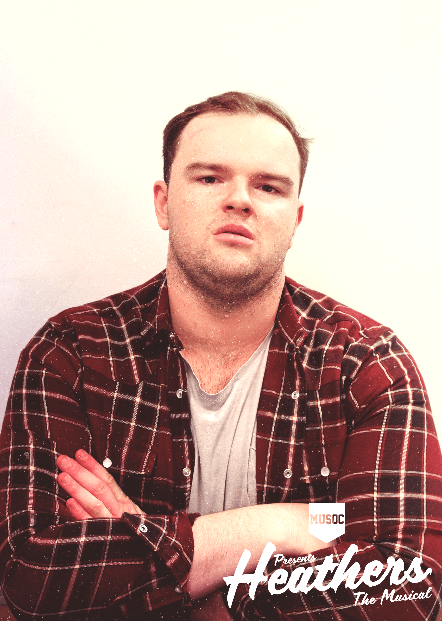 MATT MCMENAMIN - RAM'S DAD  Heathers is Matt McMenamin's second show with MUSOC and has had a blast performing with stellar cast. Matt is playing Ram's Dad: a conservative, red-blooded American man who certainly has nothing to hide. No sir, nothing at all.