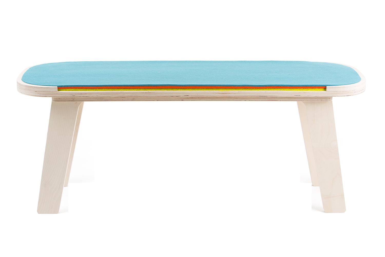 Slim touch bench