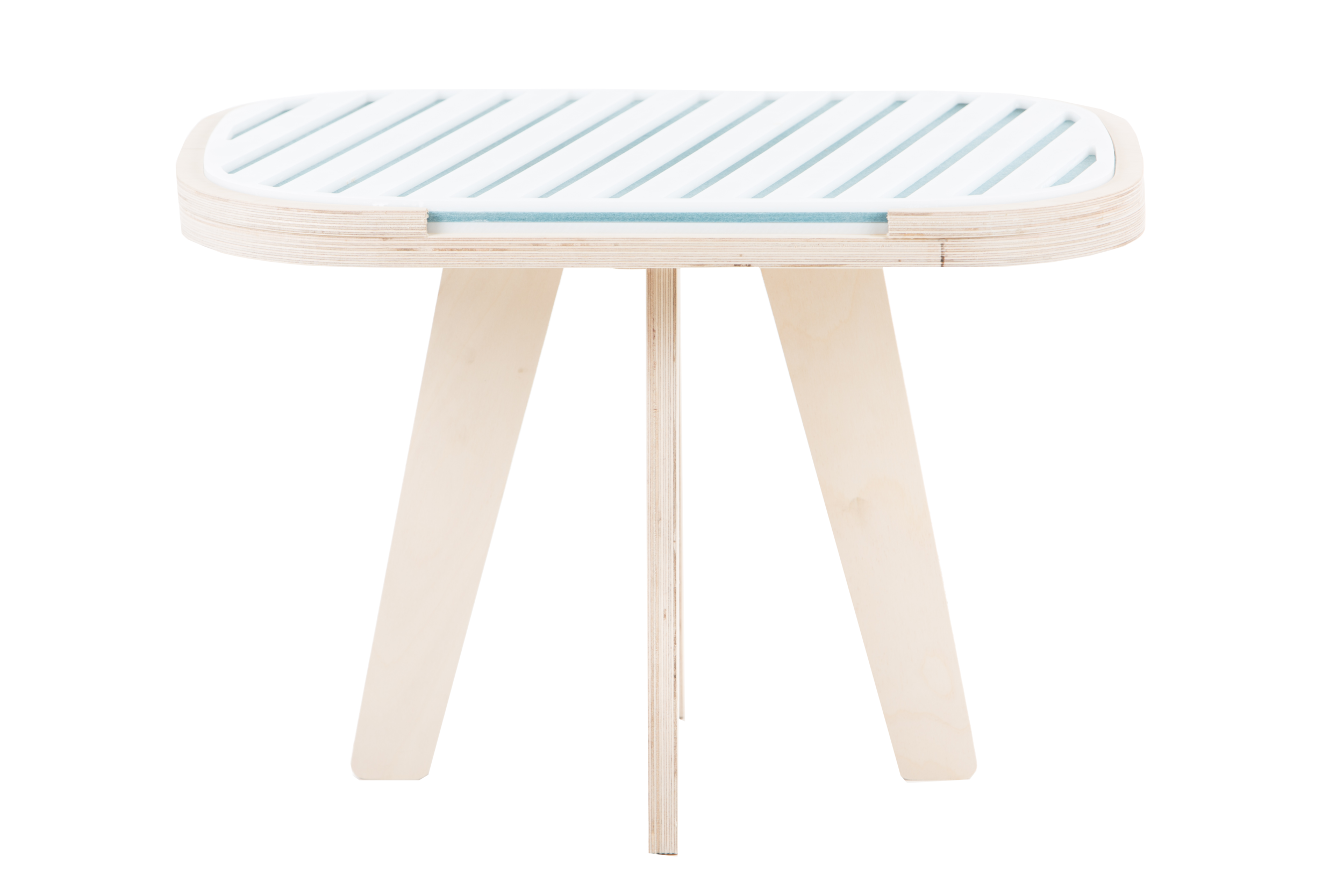 Slim touch table