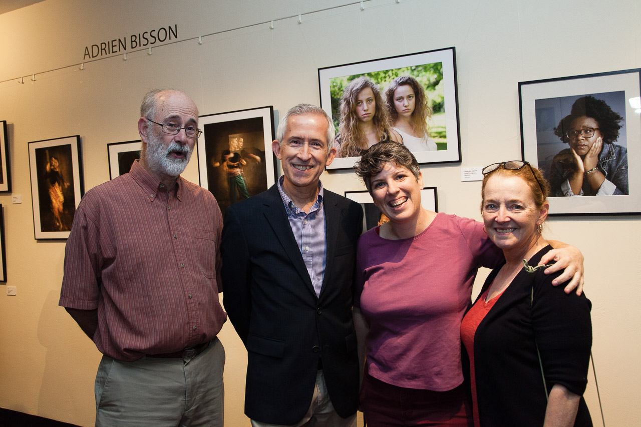 Photographers Jack Holmes, Adrien Bisson, Meghan Moore, and Peg Shanahan