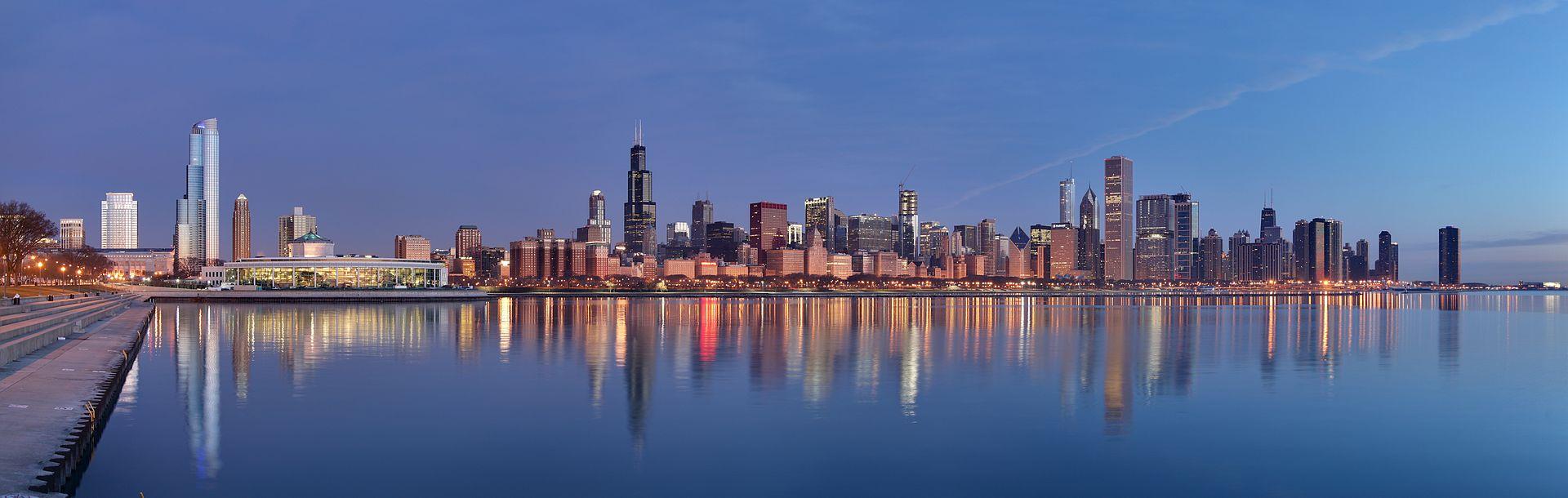 Chicago, Illinois (Daniel Schwen/Wikimedia Commons, Creative Commons)