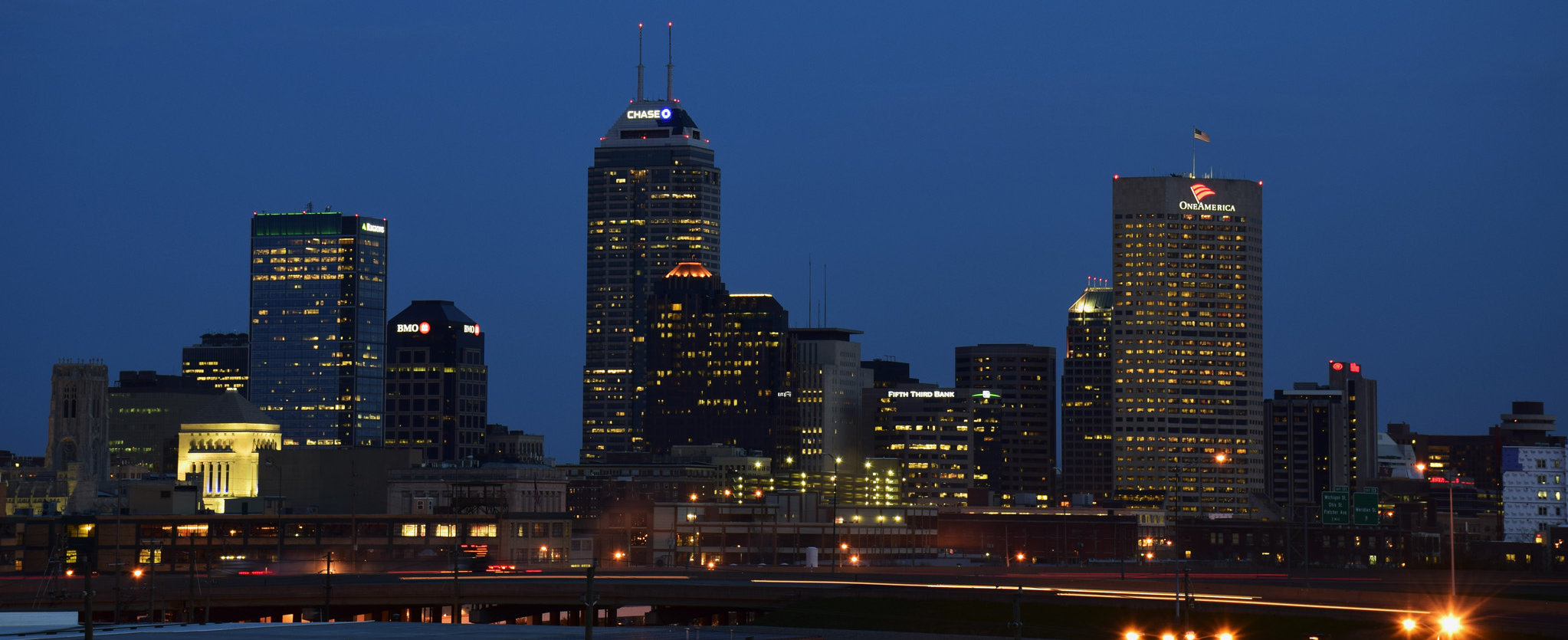 Indianapolis, Indiana ( Chris Bowman /Flickr, Creative Commons)