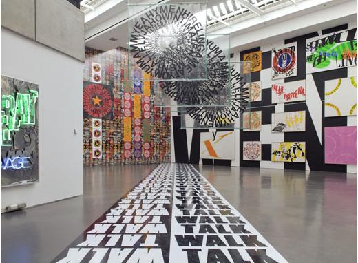 Kunsthalle Düsseldorf // Ferdinand Kriwet