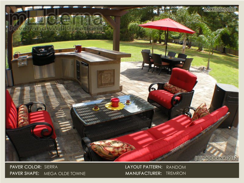 The completed jacksonville outdoor living project.