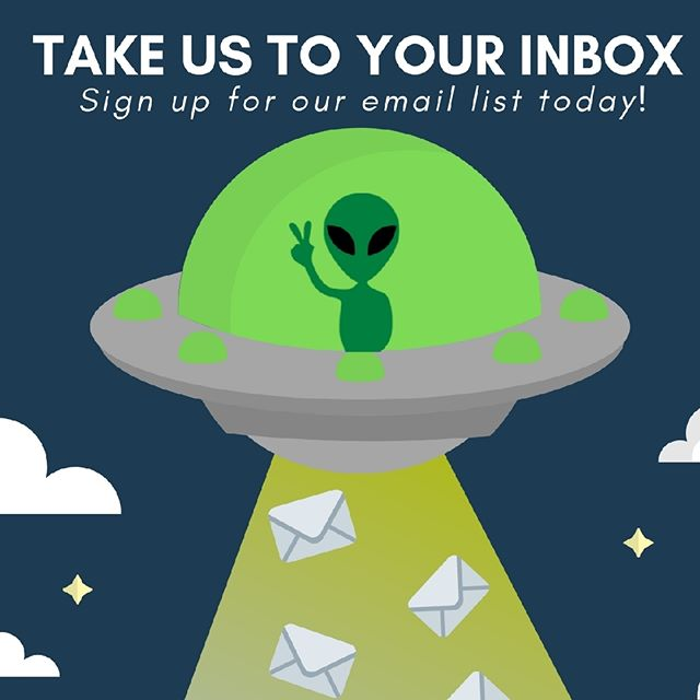 Join our email list today for the latest updates at the arcade and exclusive offers! Click the link in out bio to sign up today.⠀ ⠀  #losaltos #downtownlosaltos #aliens #arcadegamer #area51 #area151arcade #area151