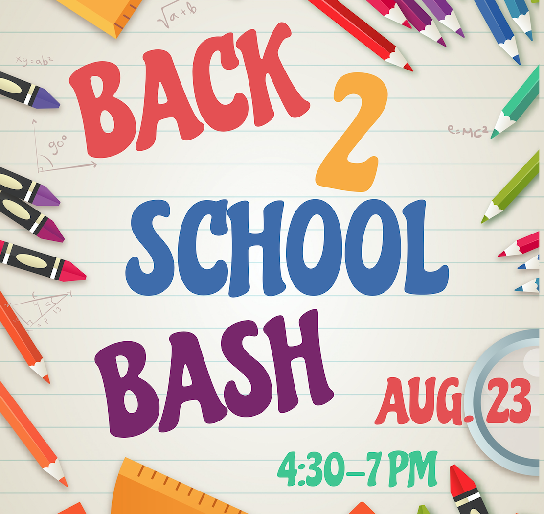 Join us for food, fun, fellowship before the school year is started. Dinner, Games, Dunk Tank, Bounce House, and Open House!  CLICK HERE  to pre register.