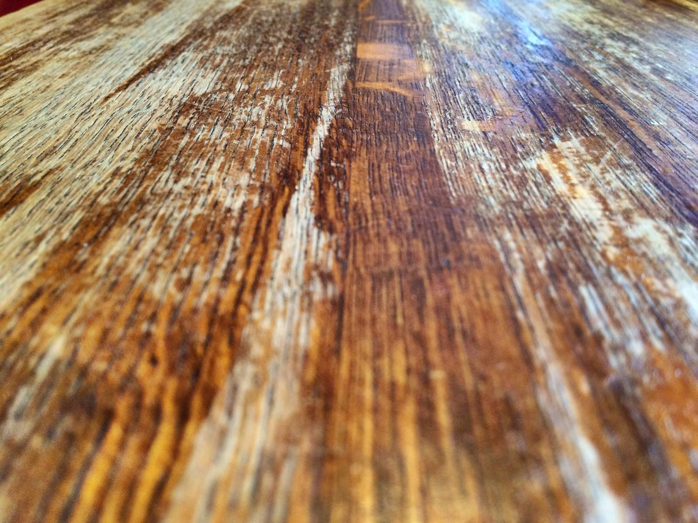 Wooden table  via  Photopin   (cc)