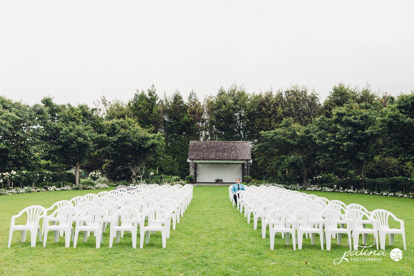 Oak Valley Manor, New Plymouth Wedding in the Rain
