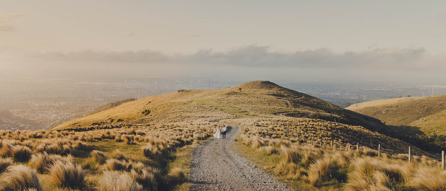 Christchurch wedding at the port hills