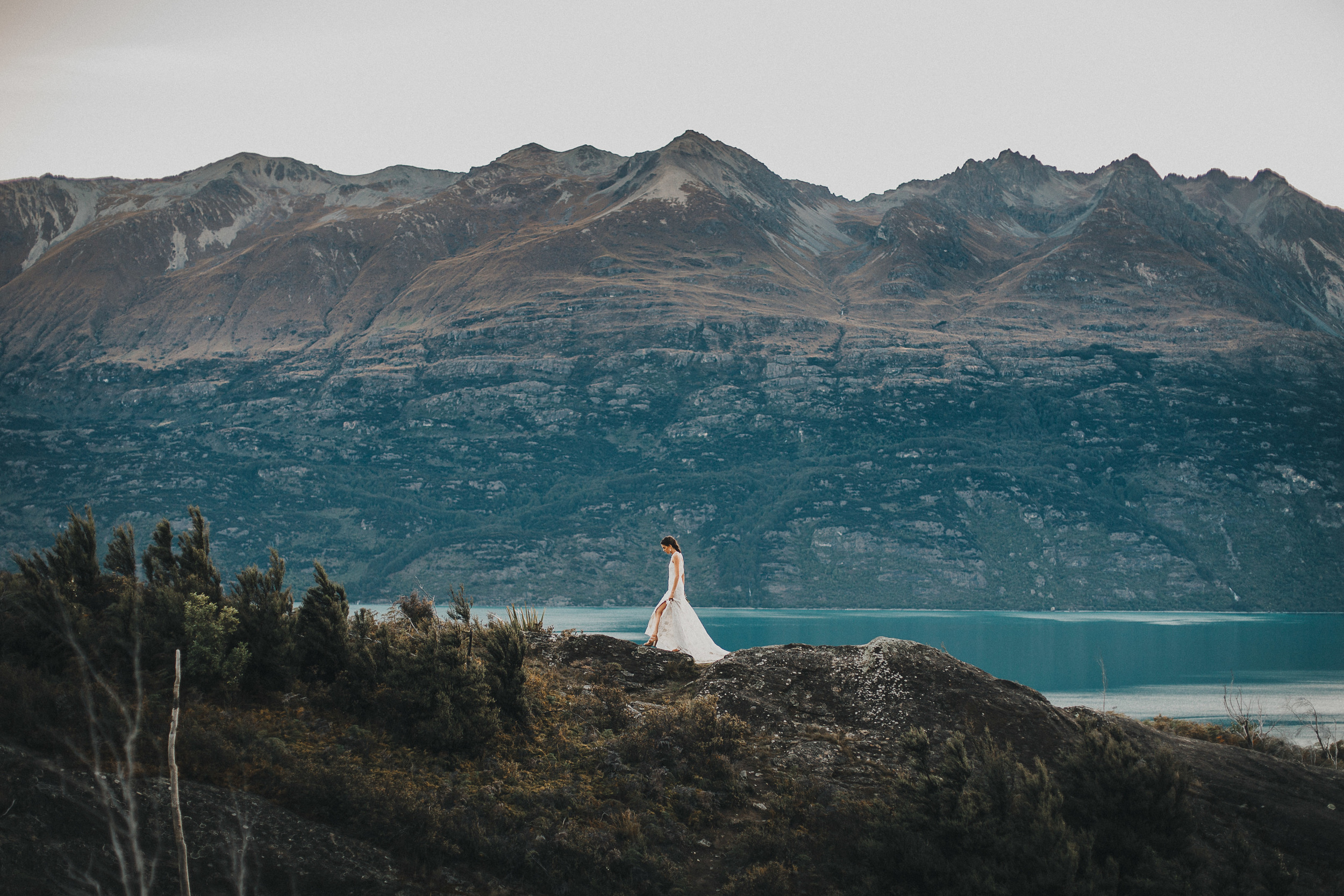 Glenorchy wedding photos