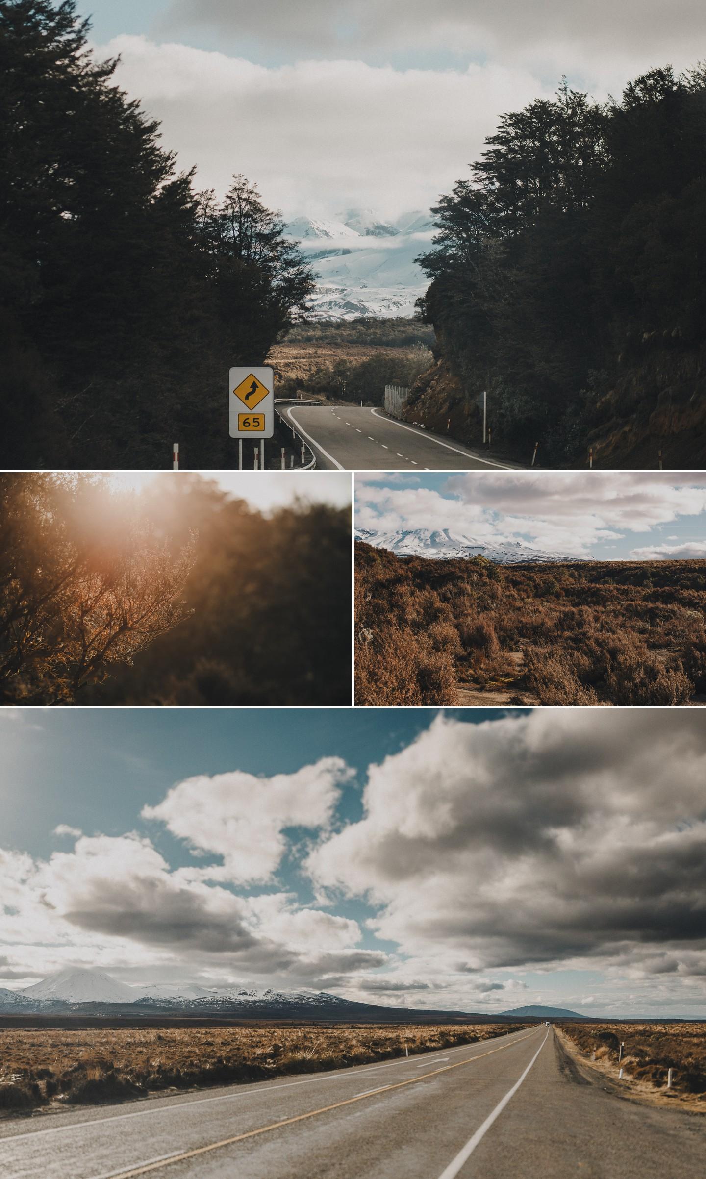 New Zealand roadtrip desert road