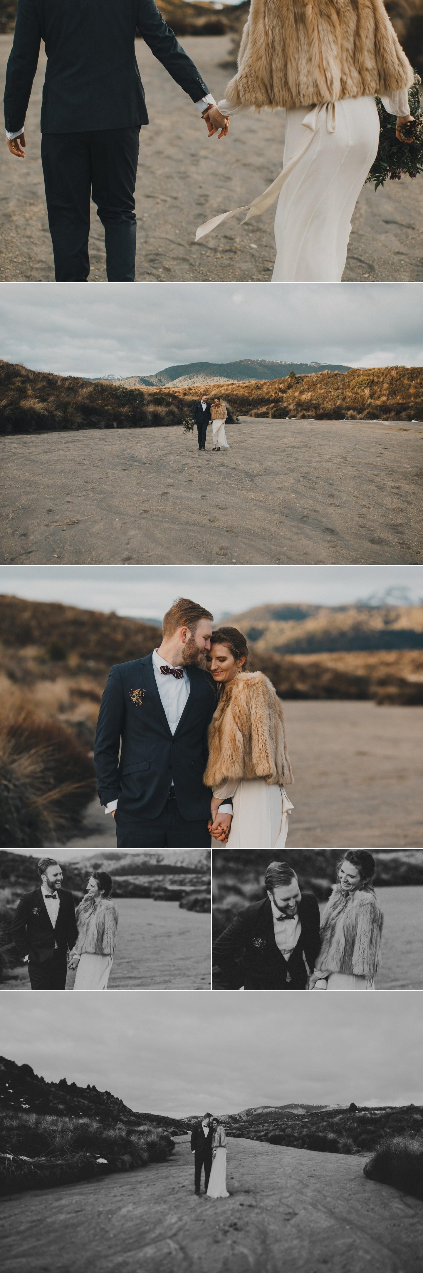 Pre-wedding photos in New Zealand