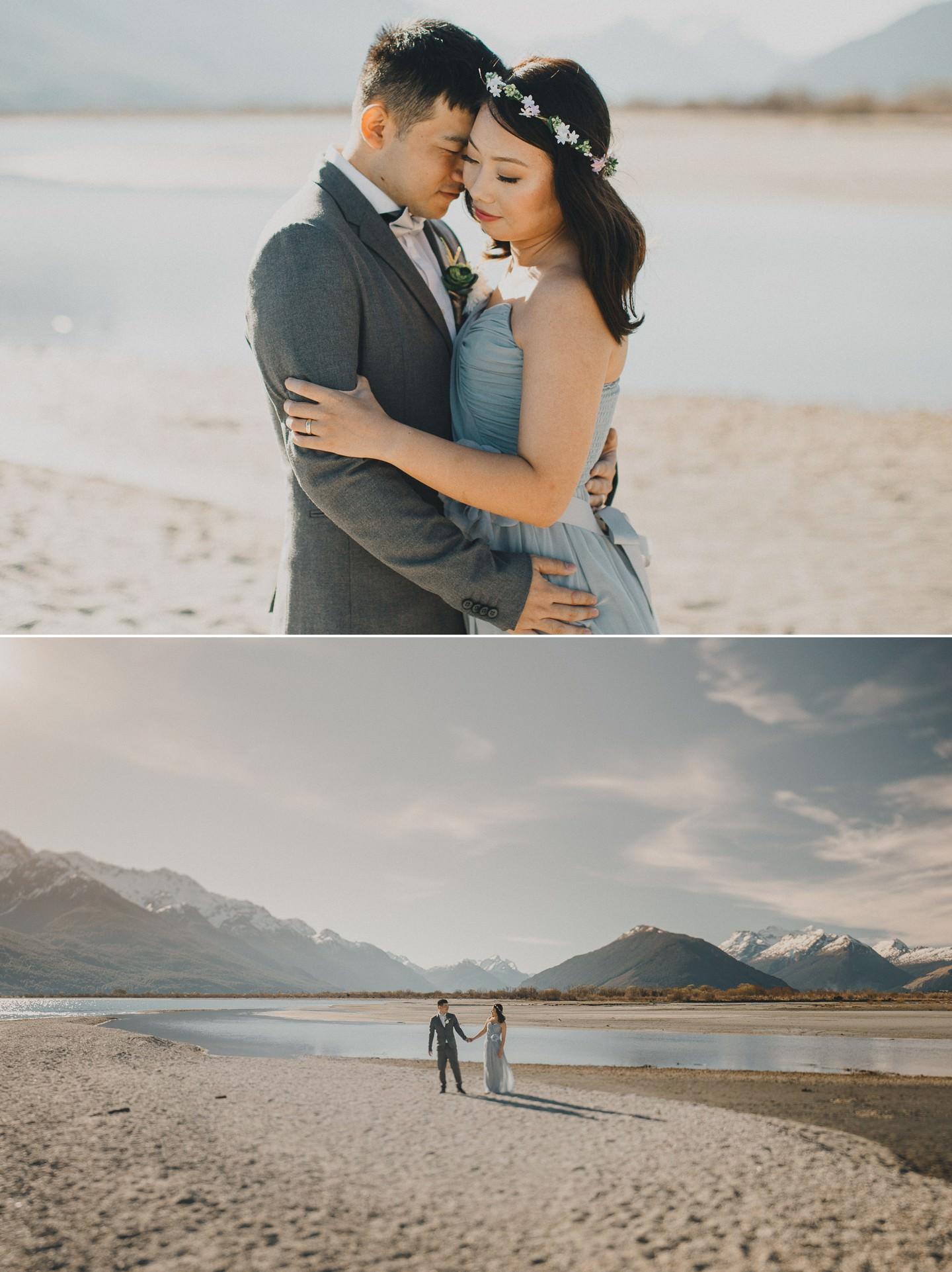New Zealand pre wedding photography