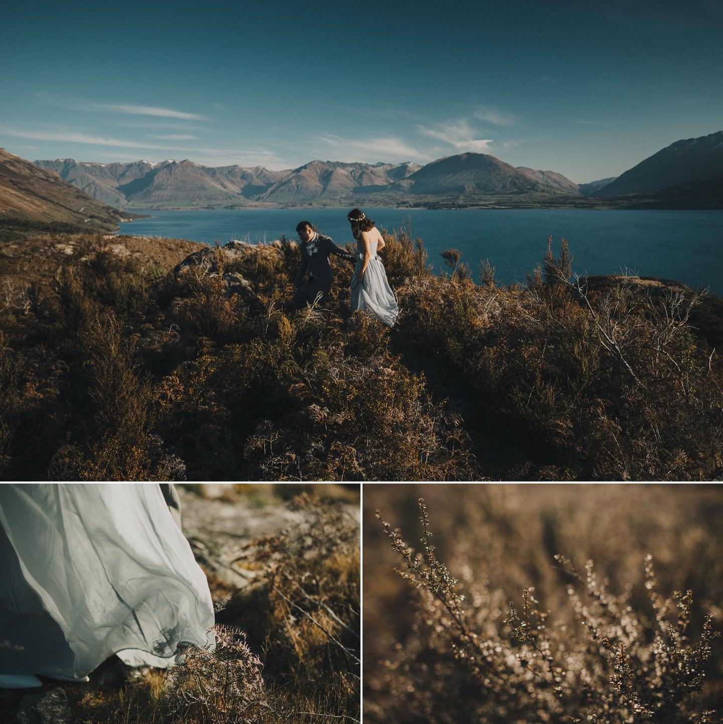 Adventurous New Zealand pre wedding photography