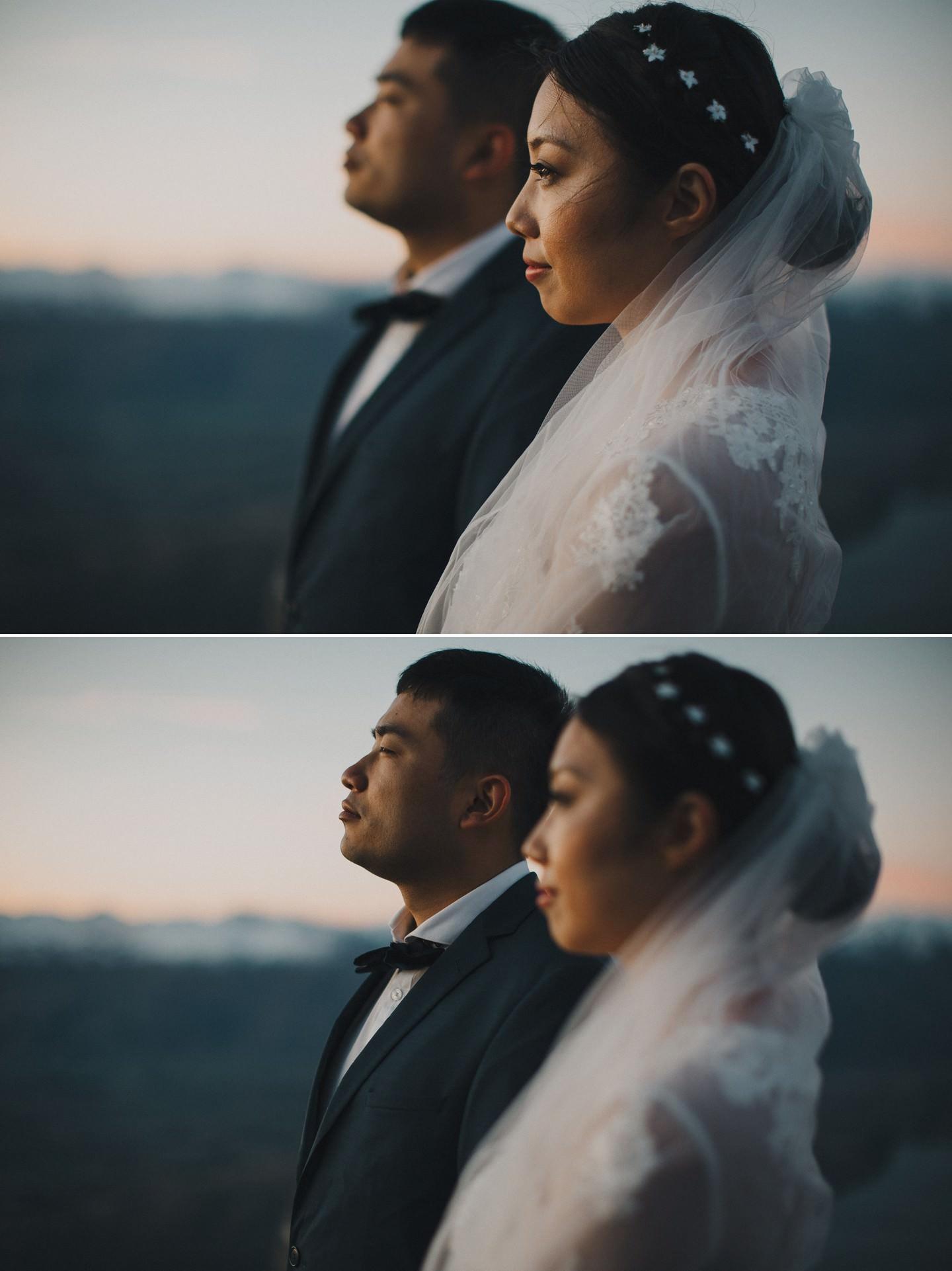 Creative New Zealand pre wedding photos