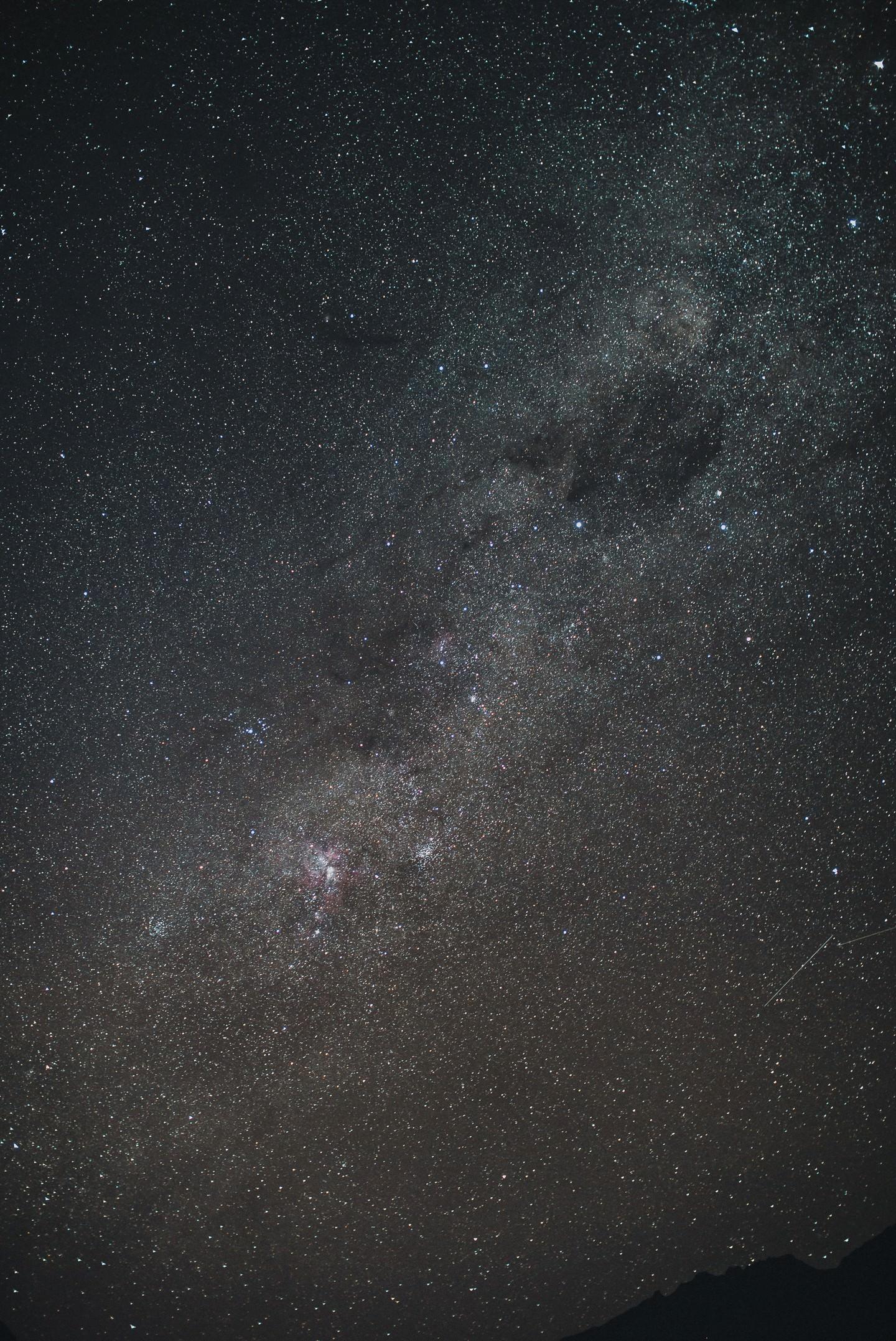 Milky Way at Lake Moke Queenstown